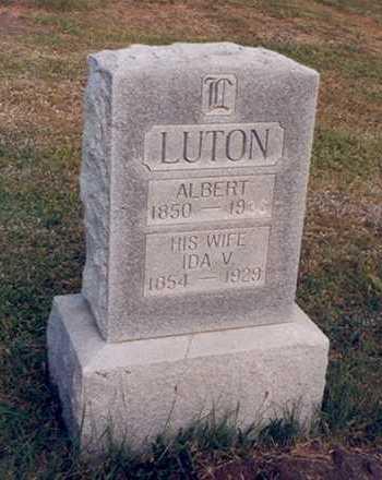 JACKSON LUTON, IDA - Taylor County, Iowa | IDA JACKSON LUTON