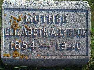 LYDDON, ELIZABETH A. - Taylor County, Iowa | ELIZABETH A. LYDDON