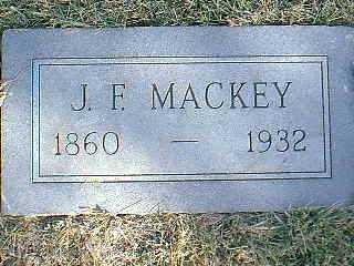 MACKEY, J.F. - Taylor County, Iowa   J.F. MACKEY
