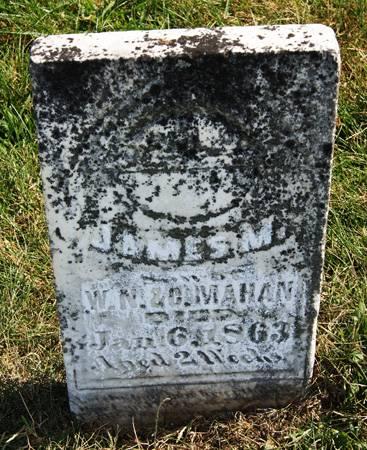 MAHAN, JAMES MADISON - Taylor County, Iowa | JAMES MADISON MAHAN