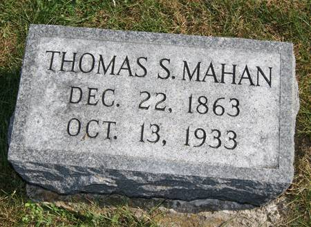 MAHAN, THOMAS SHELTON - Taylor County, Iowa | THOMAS SHELTON MAHAN