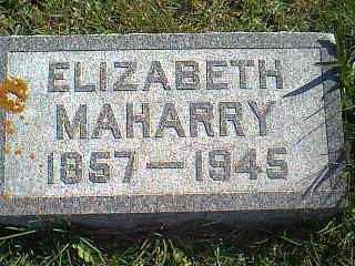 MAHARRY, ELIZABETH - Taylor County, Iowa | ELIZABETH MAHARRY