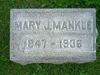 MANKLE, MARY J. - Taylor County, Iowa | MARY J. MANKLE