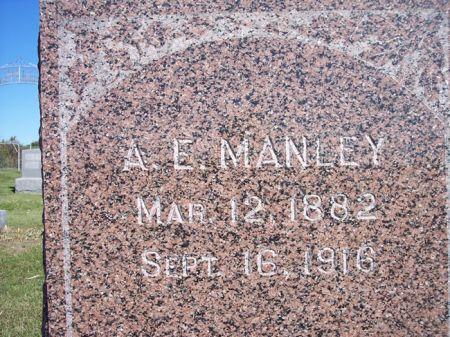 MANLEY, A.E. - Taylor County, Iowa | A.E. MANLEY