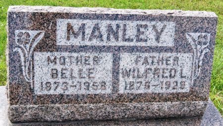 MANLEY, ANNA BELLE - Taylor County, Iowa | ANNA BELLE MANLEY