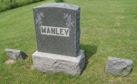 MANLEY, FRANCIS MARION, FAMILY STONE, FRONT SIDE OF - Taylor County, Iowa   FRANCIS MARION, FAMILY STONE, FRONT SIDE OF MANLEY