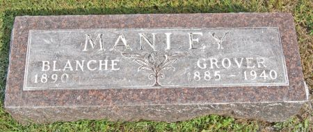 MANLEY, GROVER CLEVELAND - Taylor County, Iowa | GROVER CLEVELAND MANLEY
