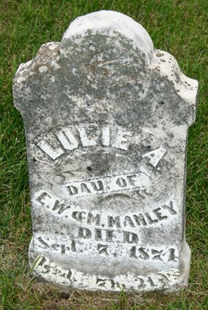 MANLEY, LULIE A. - Taylor County, Iowa | LULIE A. MANLEY