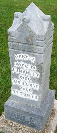 JOHNSON MANLEY, MARY JANE - Taylor County, Iowa | MARY JANE JOHNSON MANLEY