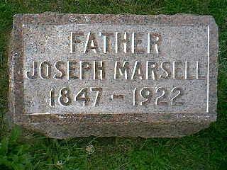 MARSELL, JOSEPH - Taylor County, Iowa | JOSEPH MARSELL