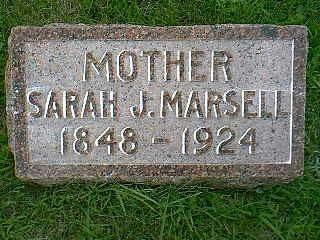 MARSELL, SARAH J. - Taylor County, Iowa | SARAH J. MARSELL