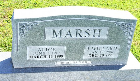 MARSH, ALICE - Taylor County, Iowa | ALICE MARSH