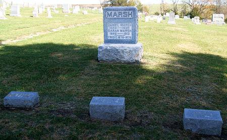 MARSH, DANIEL, FAMILY PLOT OF - Taylor County, Iowa | DANIEL, FAMILY PLOT OF MARSH