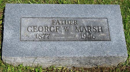 MARSH, GEORGE WILBUR - Taylor County, Iowa   GEORGE WILBUR MARSH
