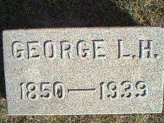 MARSH, GEORGE L.H. - Taylor County, Iowa   GEORGE L.H. MARSH
