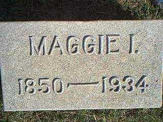 MARSH, MAGGIE I. - Taylor County, Iowa | MAGGIE I. MARSH