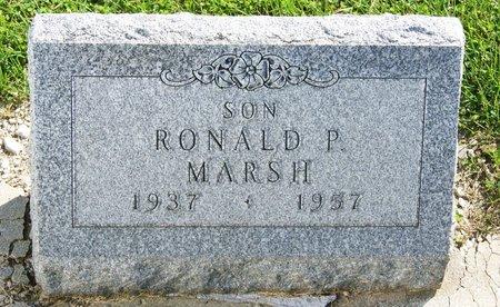 MARSH, RONALD PAUL - Taylor County, Iowa | RONALD PAUL MARSH