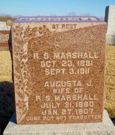 MARSHALL, R.S. - Taylor County, Iowa | R.S. MARSHALL