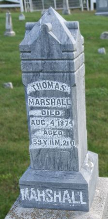 MARSHALL, THOMAS - Taylor County, Iowa | THOMAS MARSHALL