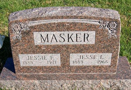 KONECNE MASKER, JESSIE FLORENCE - Taylor County, Iowa | JESSIE FLORENCE KONECNE MASKER
