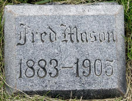 MASON, FRED W. - Taylor County, Iowa   FRED W. MASON