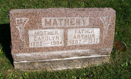 MOORE MATHENY, CAROLYN PAULINE