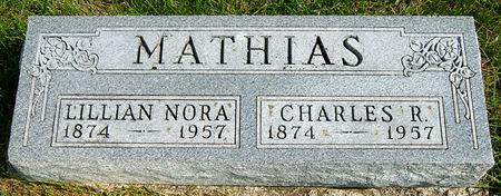 MATHIAS, CHARLES R. - Taylor County, Iowa | CHARLES R. MATHIAS
