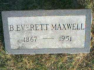 MAXWELL, B. EVERETT - Taylor County, Iowa | B. EVERETT MAXWELL
