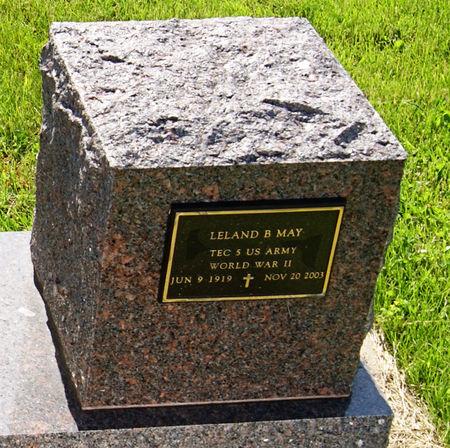 MAY, LELAND BUD - Taylor County, Iowa | LELAND BUD MAY