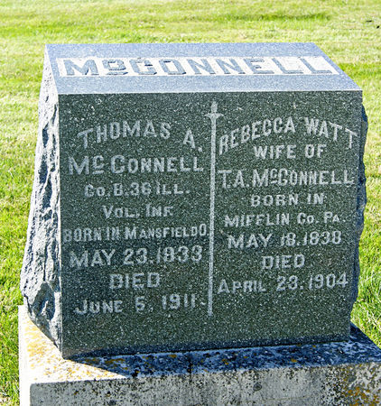 MCCONNELL, THOMAS ALLEN - Taylor County, Iowa | THOMAS ALLEN MCCONNELL