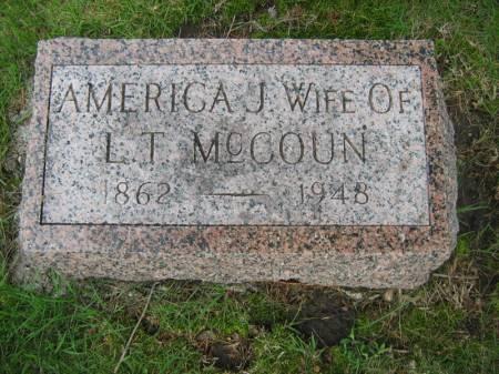 MC COUN, AMERICA J. - Taylor County, Iowa | AMERICA J. MC COUN