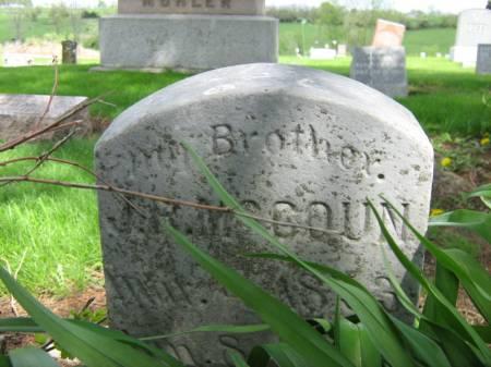 MC COUN, J.R. - Taylor County, Iowa | J.R. MC COUN