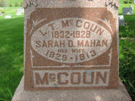 MC COUN, L.T - Taylor County, Iowa | L.T MC COUN