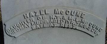 MCCUNE, HAZEL - Taylor County, Iowa | HAZEL MCCUNE