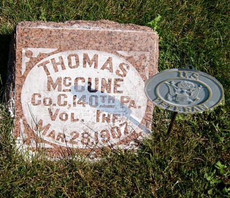 MCCUNE, THOMAS D. - Taylor County, Iowa | THOMAS D. MCCUNE