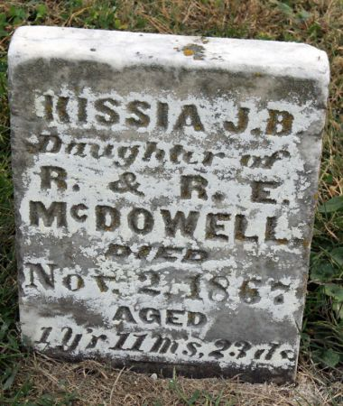 MCDOWELL, KISSIA J. B. - Taylor County, Iowa   KISSIA J. B. MCDOWELL