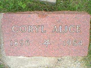 MCINTYRE, CORYL ALICE - Taylor County, Iowa | CORYL ALICE MCINTYRE