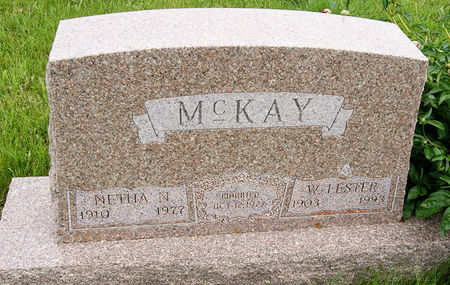 AKERS MCKAY, NETHA NEOLA - Taylor County, Iowa | NETHA NEOLA AKERS MCKAY