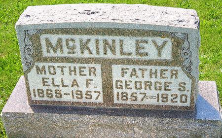 MCKINLEY, ELLA FRANCES - Taylor County, Iowa   ELLA FRANCES MCKINLEY