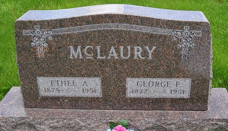 MCLAURY, ETHEL AGNES - Taylor County, Iowa | ETHEL AGNES MCLAURY