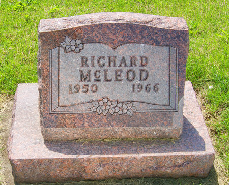 MCLEOD, RICHARD WARREN - Taylor County, Iowa | RICHARD WARREN MCLEOD