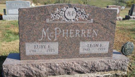 AVERY MCPHERREN, RUBY EDNA - Taylor County, Iowa | RUBY EDNA AVERY MCPHERREN