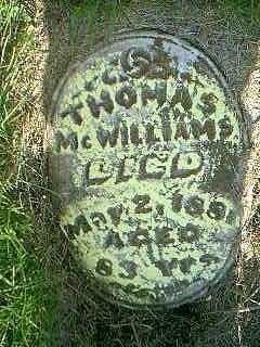 MCWILLIAMS, THOMAS - Taylor County, Iowa | THOMAS MCWILLIAMS