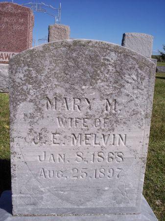 MELVIN, MARY M. - Taylor County, Iowa | MARY M. MELVIN