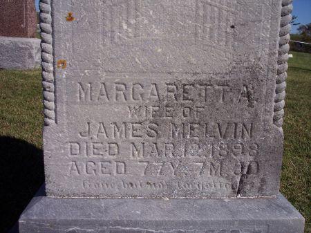 MELVIN, MARGARETT A. - Taylor County, Iowa | MARGARETT A. MELVIN