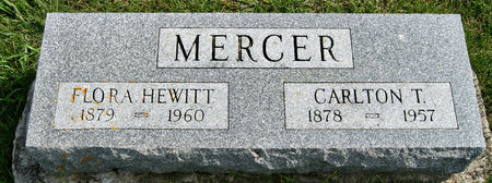 HEWITT MERCER, FLORA LETITIA - Taylor County, Iowa   FLORA LETITIA HEWITT MERCER