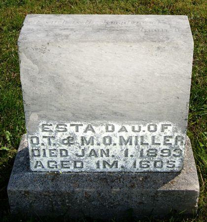 MILLER, ESTA - Taylor County, Iowa   ESTA MILLER