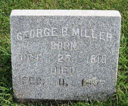 MILLER, GEORGE B. - Taylor County, Iowa | GEORGE B. MILLER