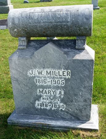 MILLER, MARY ANN - Taylor County, Iowa | MARY ANN MILLER