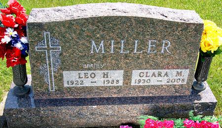 MILLER, CLARA MARGARET - Taylor County, Iowa | CLARA MARGARET MILLER